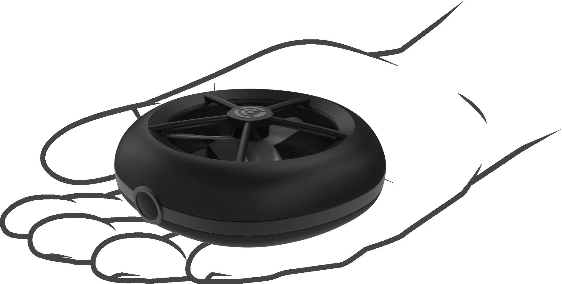200g以下で軽量・安全!セルフィードローン「Cleo drone」が登場