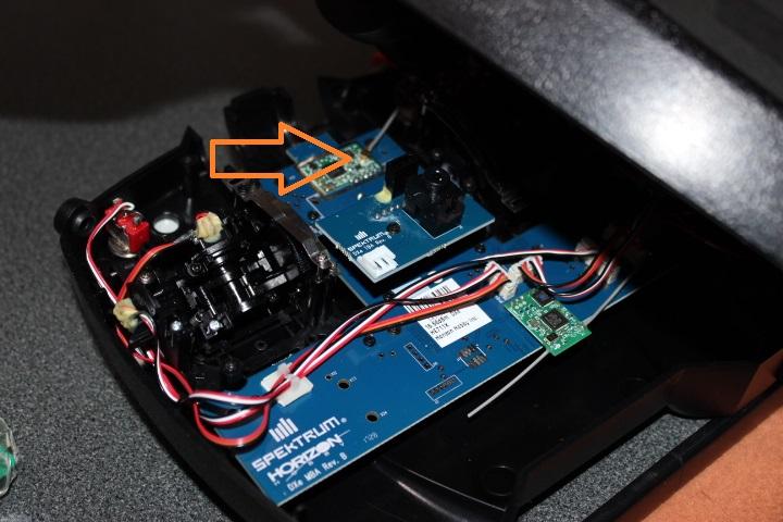 【Spektrum DXeプロポ 送信機】モード1(mode)→モード2への変更方法 スペクトラム