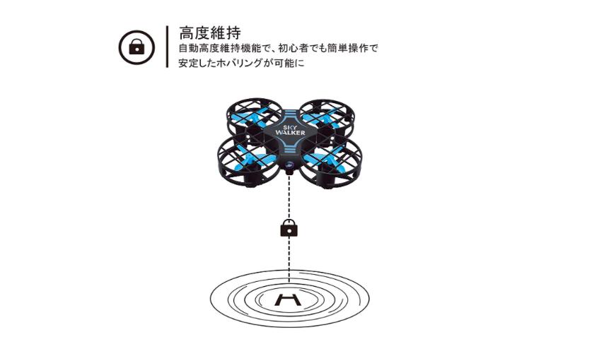 【子供のおもちゃにおすすめのドローン】Systech Toys H823H レビュー