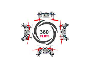 【Hubsan NANO Q4 H111 レビュー】200g未満のミニドローン