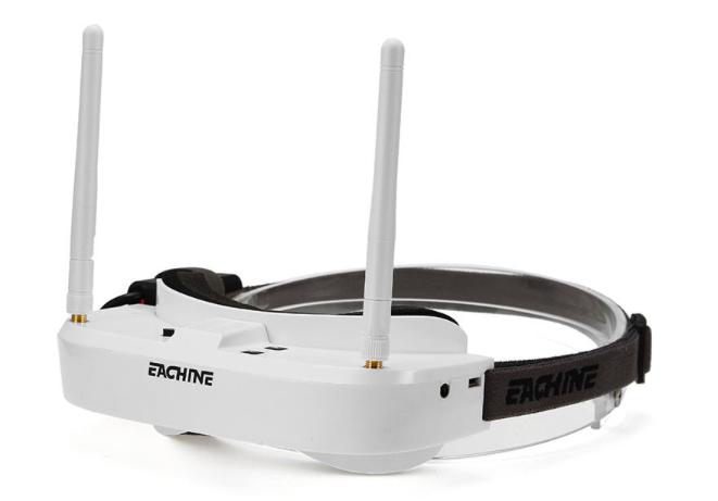 5.8Ghz FPVゴーグル『Eachine EV100』レビュー