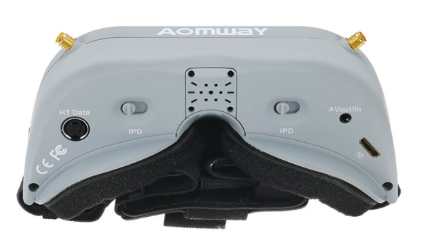 5.8GhzFPVゴーグル『Aomway Commander V1』レビュー