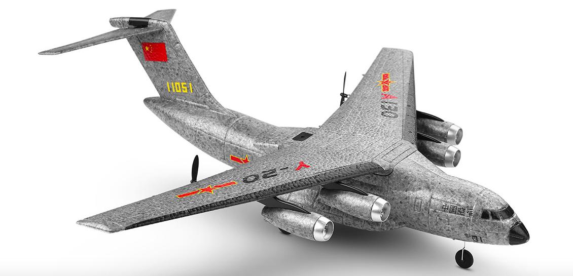 200g未満 RCラジコンジェット『XK A130-Y20』レビュー