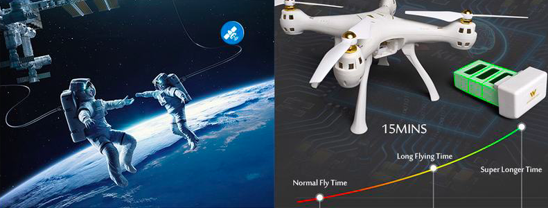 【Attop W9 ドローンレビュー】GPSとシングルジンバル搭載ドローン