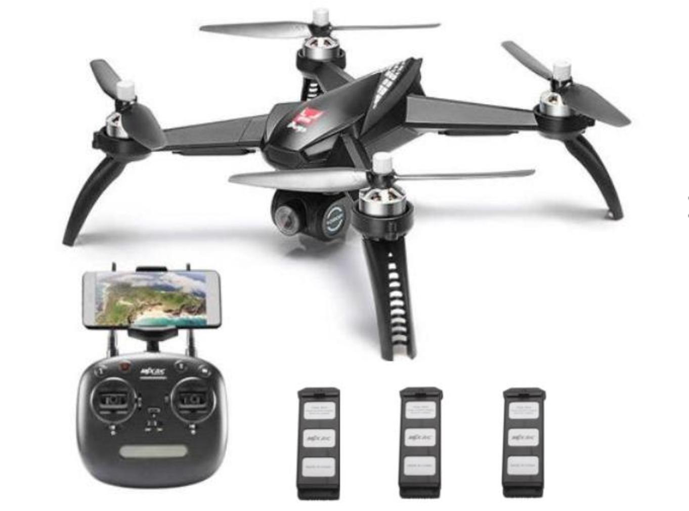 MJX BUGS B5Wブラシレスモーター GPS搭載ドローン レビュー