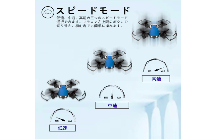 【200g未満】EACHINE E61H ミニドローン レビュー