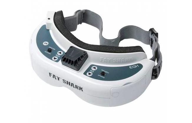 5.8GhzFPVゴーグル『FatShark HD3 Core』レビュー