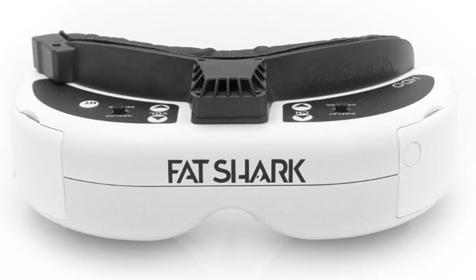 5.8Ghz FPVゴーグル「FatShark Dominator HDO」レビュー