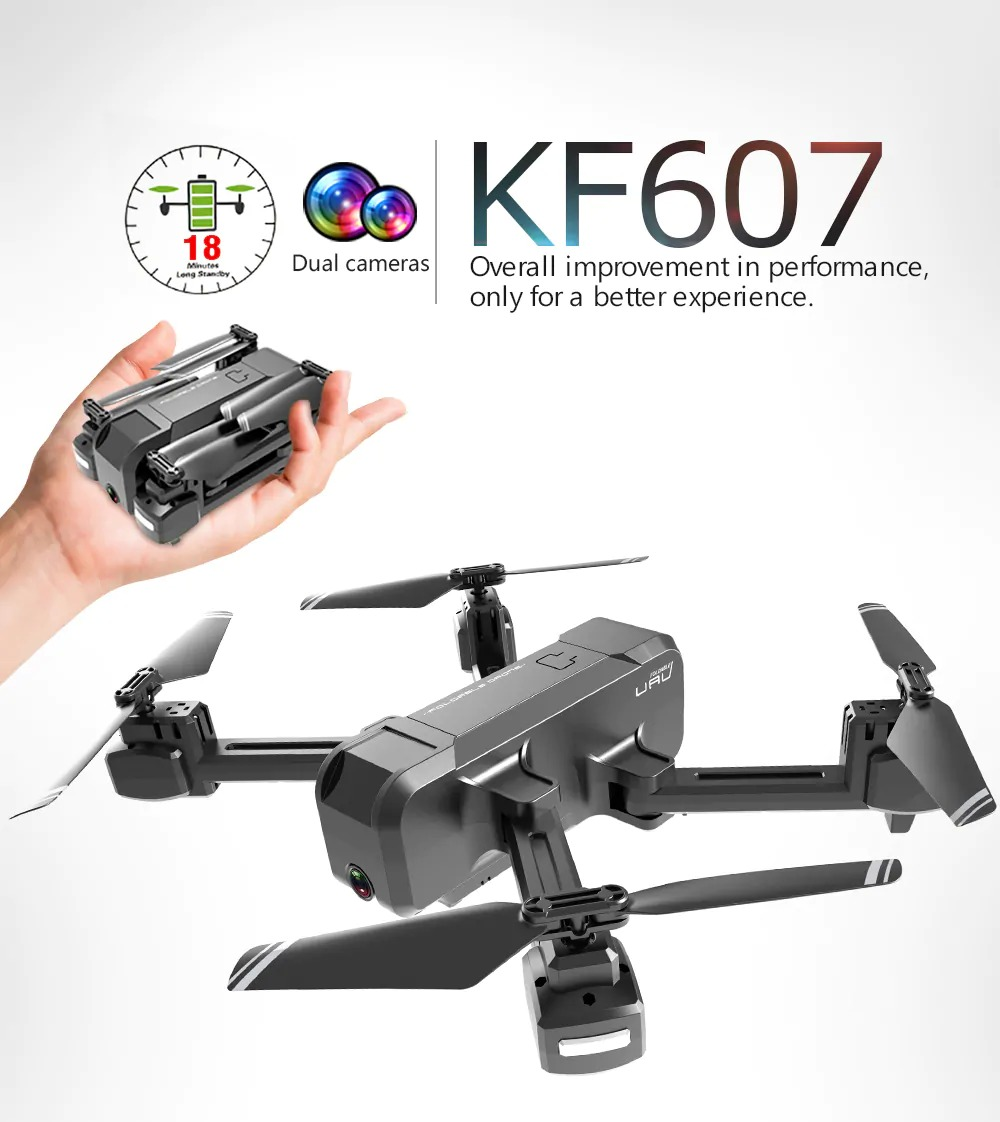 【1万円以下】4Kカメラ搭載 KF607 ドローン レビュー