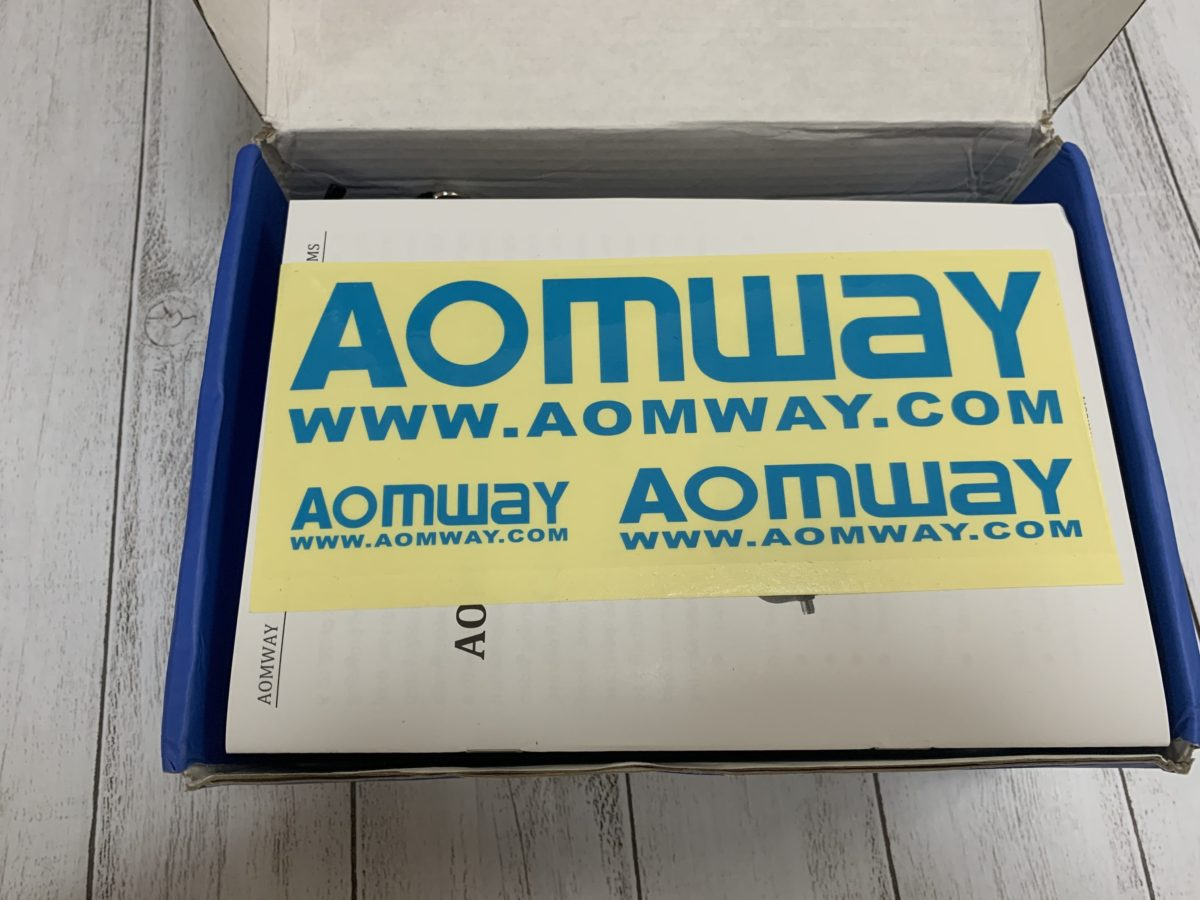 5.8Ghz FPVゴーグル「AOMWAY Commander V1S」実機レビュー