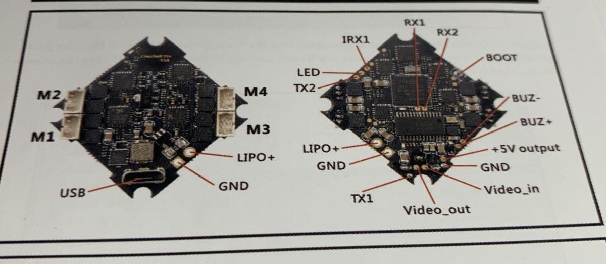 Happymodel ドローン LARVA-X ブザーの取り付け方法