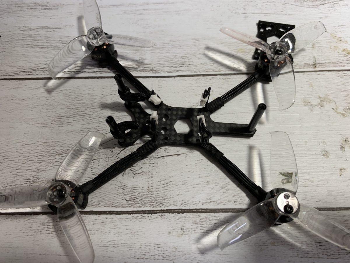 【HGLRC FD413 16mm×16mm FC,ESCレビュー 】自作ドローンToothpick機を作ってみました