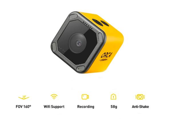 【ドローン 搭載カメラ】Caddx Orca 4K カメラ 発売開始!