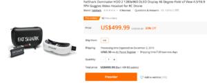 5.8Ghz FPVゴーグル「FatShark Dominator HDO2」レビュー