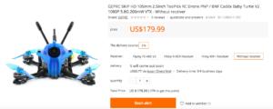 GEPRC SKIP HD 105mm 2.5inch ToothPick 発売決定!