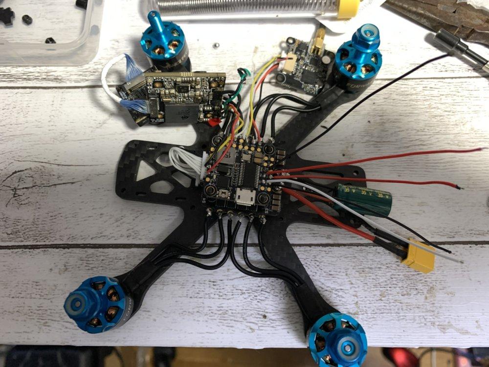 【自作ドローンの作り方】200g未満で6s仕様のドローンを作ってみました