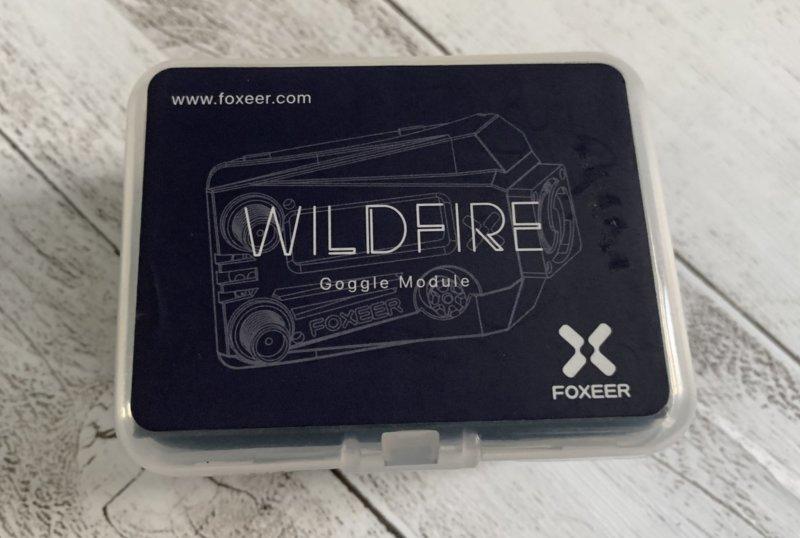 Foxeer Wildfire 受信モジュール レビュー【Fatshark FPVゴーグル】