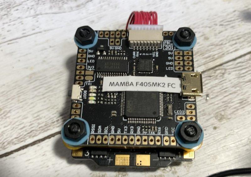 Mamba F405 MK2 manual (FC回路図)