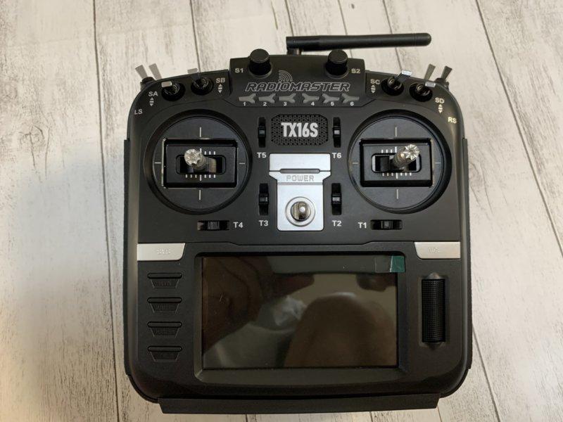 【OpenTX 送信機】RadioMaster TX16S レビュー!技適取得済み