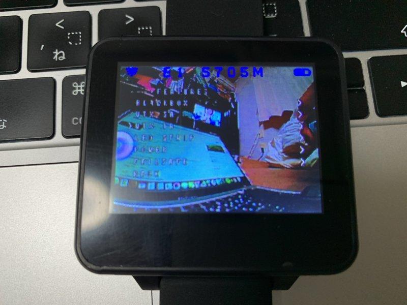 時計型FPVモニター 200RC FPV Wearable Watch 2 レビュー