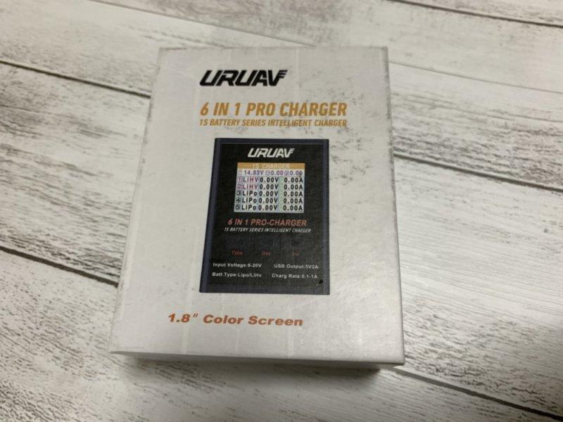 URUAV 6 in 1 PRO 1Sリポバッテリー充電器 レビュー