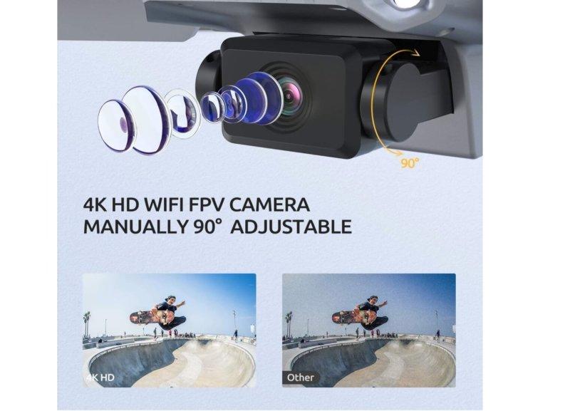【200g未満】4Kカメラ付き Tomzon D25 ドローン 販売開始
