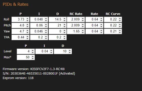 【KISS FC V2 の設定】MR STEELE APEX KIT ビルド
