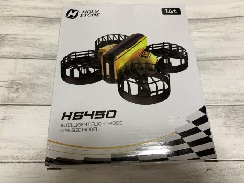 【200g未満】Holy Stone 小型ドローン HS450 レビュー
