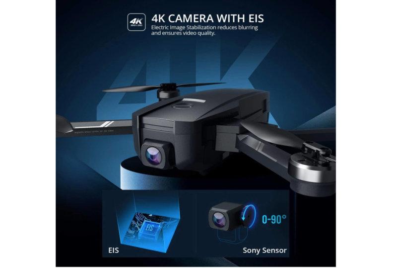 【4Kカメラ 安定化(EIS)付き】Holy Stone HS720E 日本での発売は?