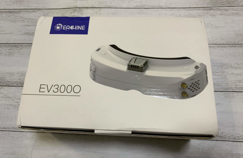 5.8Ghz FPVゴーグル Eachine EV300O レビュー