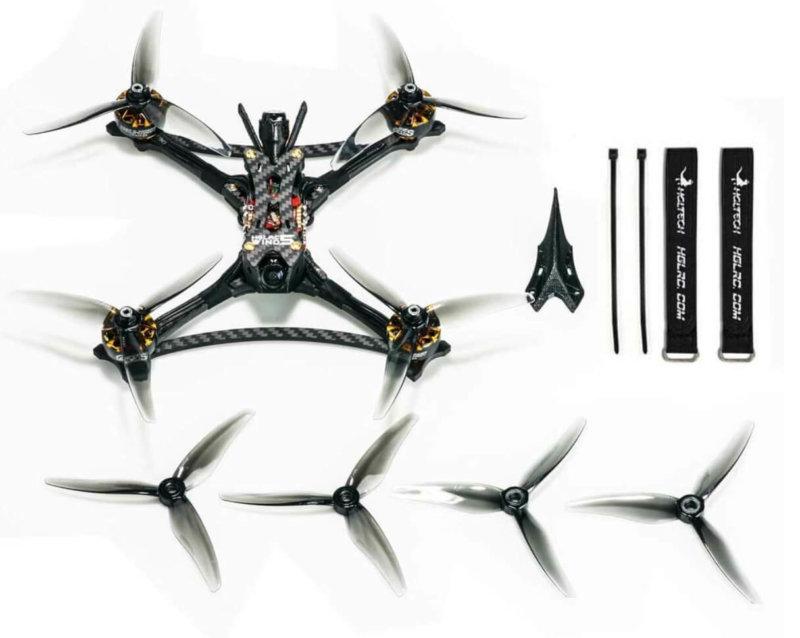 HGLRC Wind5 Lite 5 Inch レーシングドローン発売