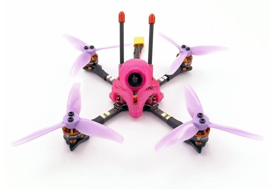 Darwinfpv quadcopters Darwin59 116ミリドローンの紹介