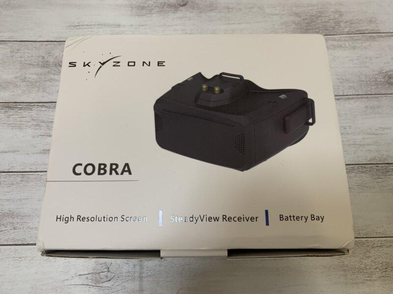 FPVゴーグル SKYZONE Cobra S/ Cobra X レビュー