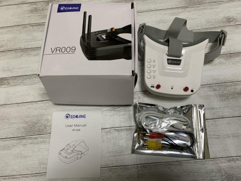 5.8Ghz FPVゴーグル Eachine VR009 レビュー【価格は最安値?】