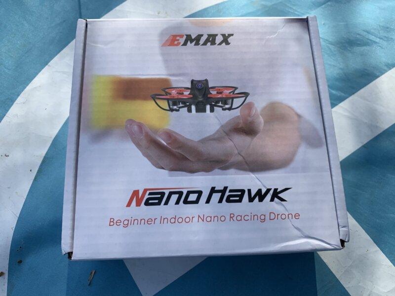 EMAX Nanohawk 65mm 1Sマイクロドローン レビュー