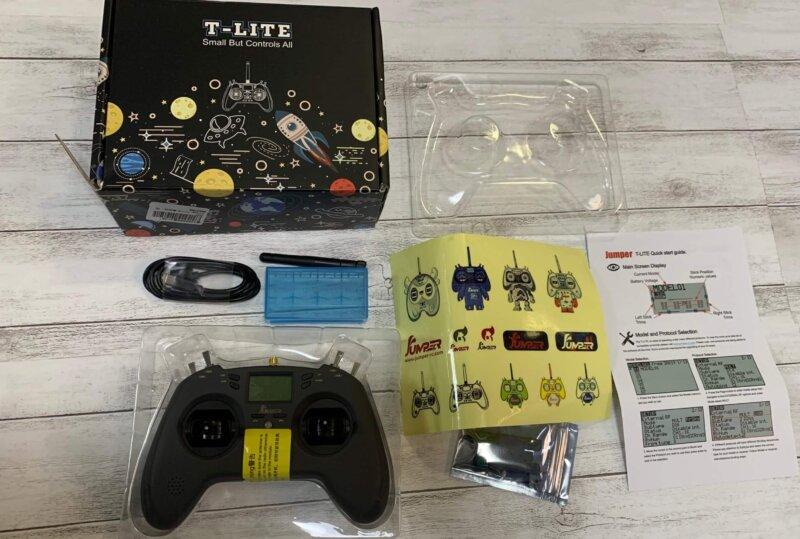【技適あり】Jumper T-Lite  送信機レビュー!設定方法も紹介