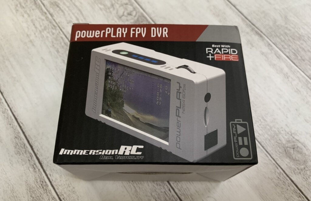 ImmersionRC PowerPlay-FPV DVR レビュー