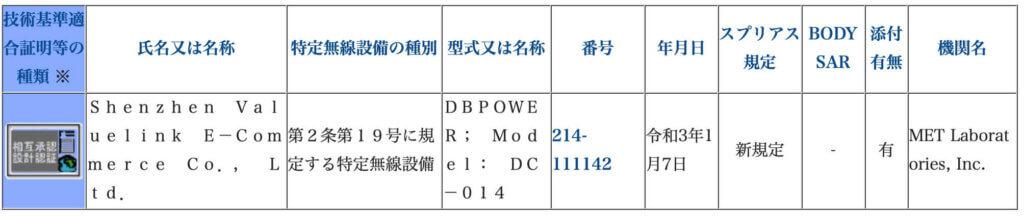 【100g未満】DBPOWER DC-014ドローンの紹介