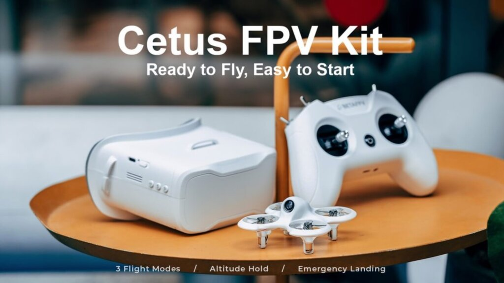 BetaFPV Cetus FPV Kit!送信機は技適マーク付きで販売開始